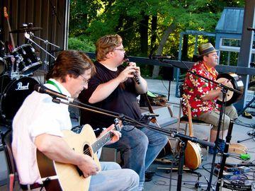 Musiker zur Folk Night