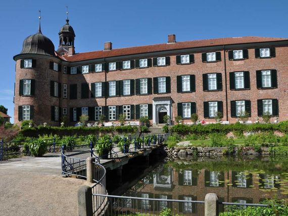 Wassergraben & Schloss Eutin
