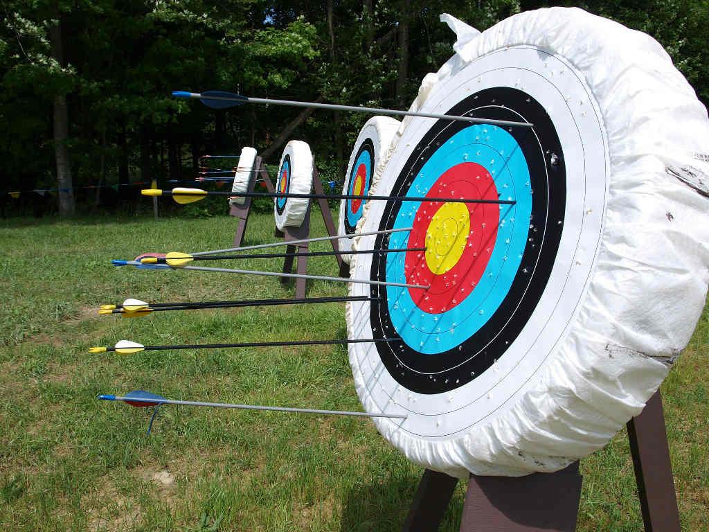 Bogenschießen Zielscheiben