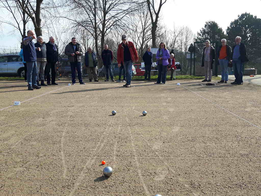 Boule-Training TSV Malente